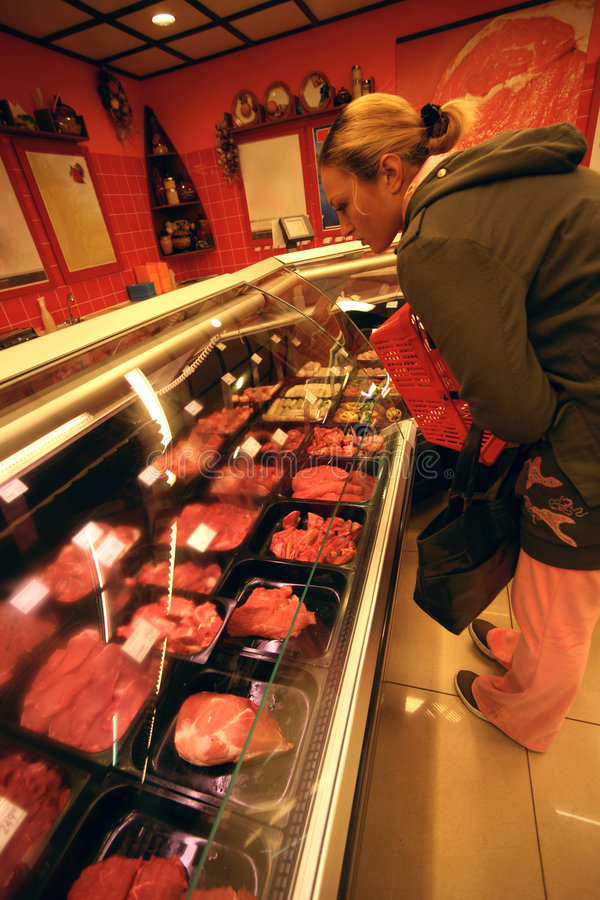 Free Butcher S Shop Stock Photos - 1375473