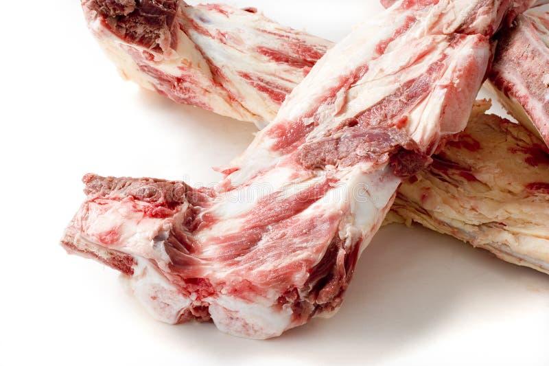 butchers косточек выслеживают старье стоковые изображения rf