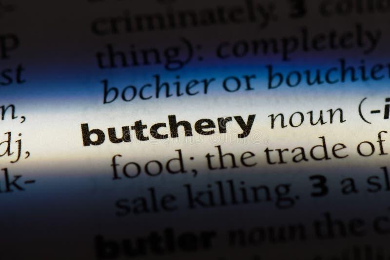 butchery fotos de stock
