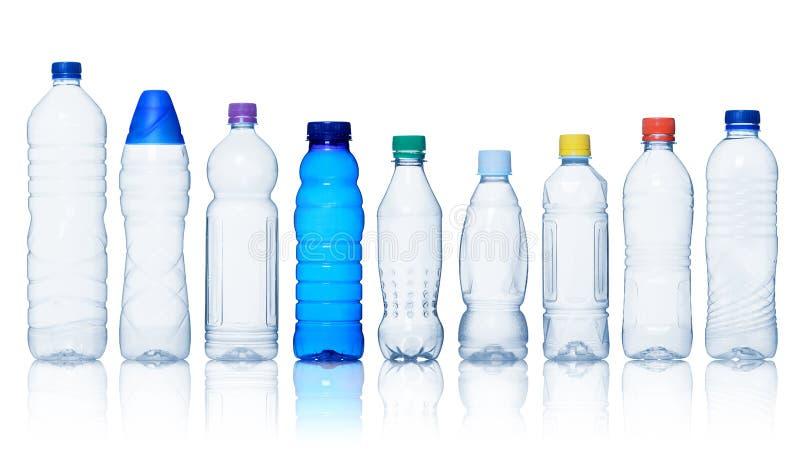 butelek kolekci woda zdjęcia royalty free