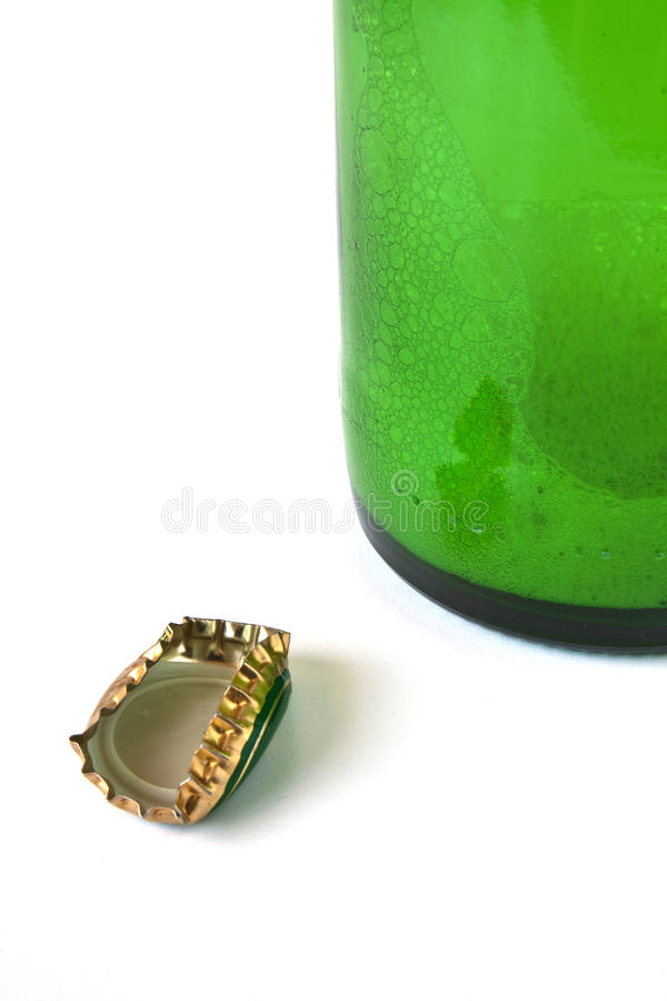 butelek nakrętki zdjęcia stock