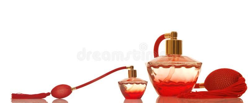 butelek szklana pachnidła czerwień obrazy royalty free
