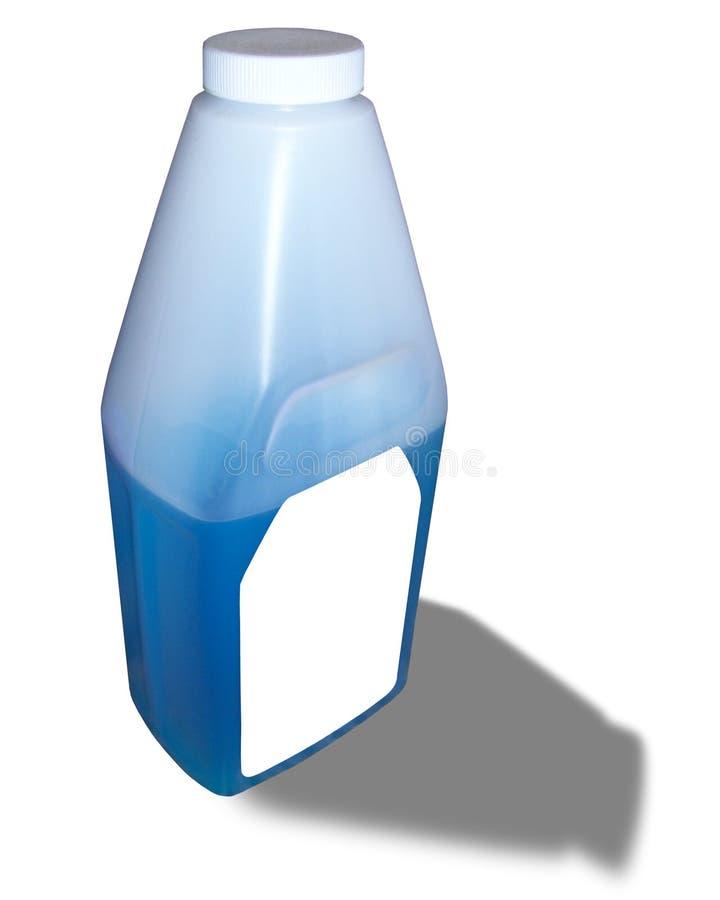 butelkę blue zdjęcia royalty free