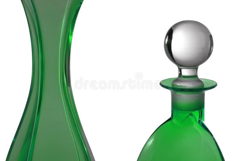 butelkę perfum zielone obrazy royalty free