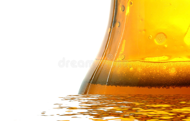butelkę piwa świeżej zdjęcie royalty free