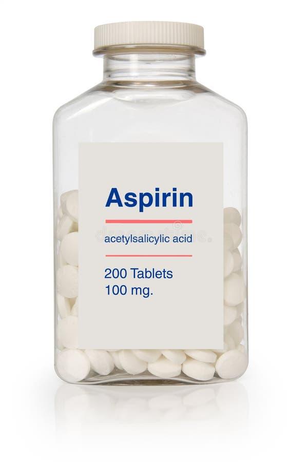 Download Butelkę aspiryny. zdjęcie editorial. Obraz złożonej z napięcie - 4245446