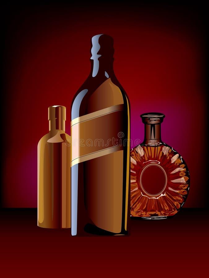 Butelka ilustracji