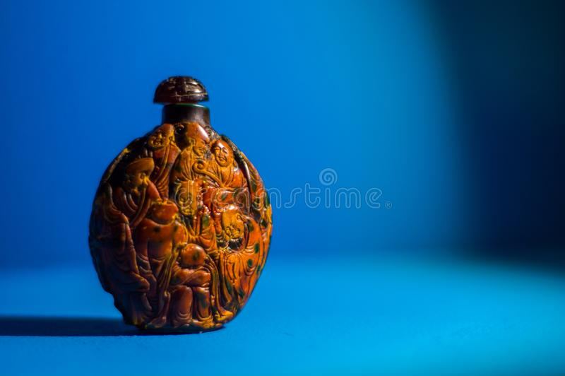 butelka Chiński obraz zdjęcie stock