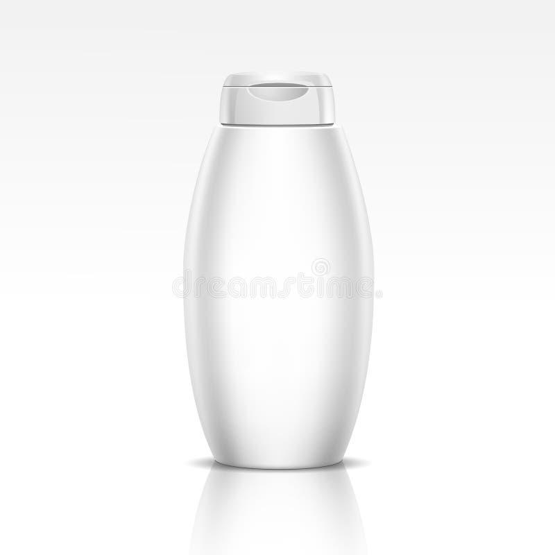 Butelka dla szampon prysznic Gel lub Ciekłego mydła ilustracji