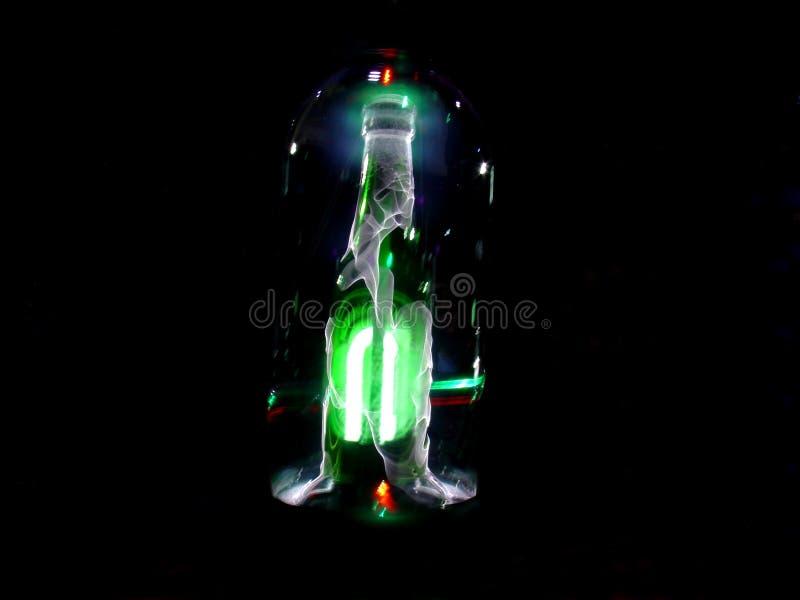 Butelka Elektryczna Obraz Royalty Free