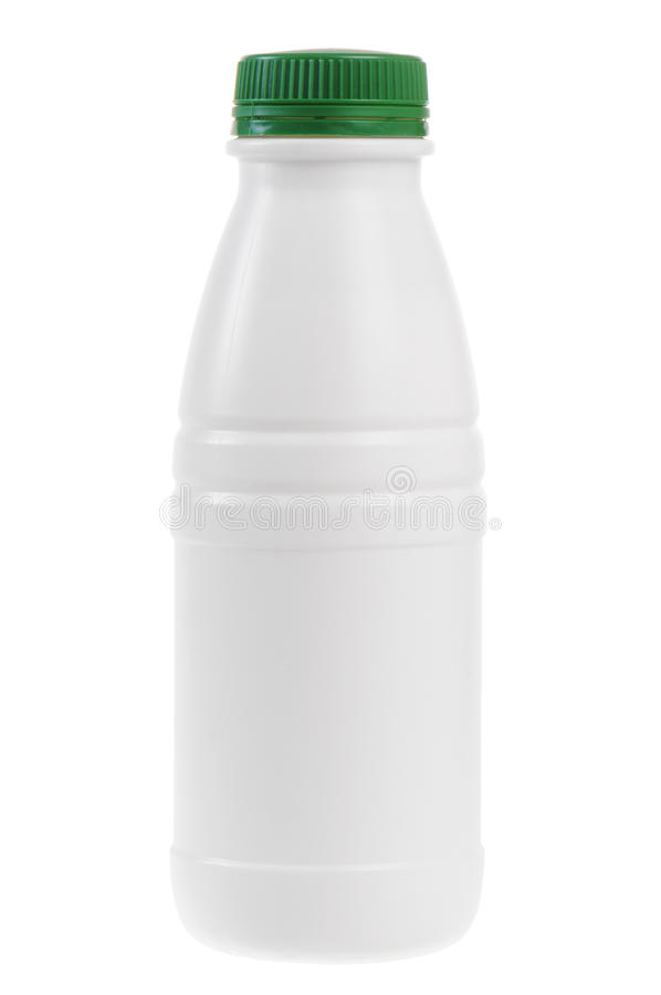 butelka kefir obraz stock