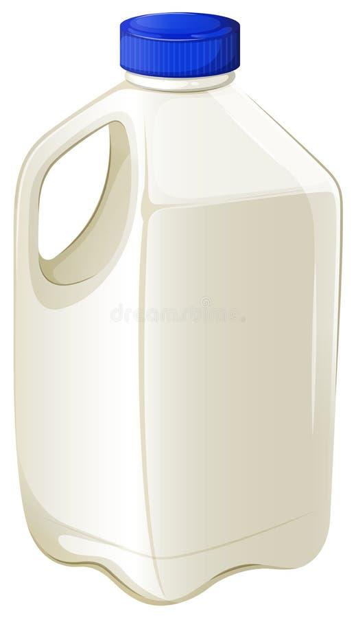 Butelka mleko royalty ilustracja