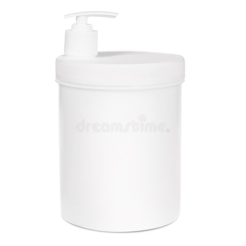 Butelka na białym backgroun fotografia stock