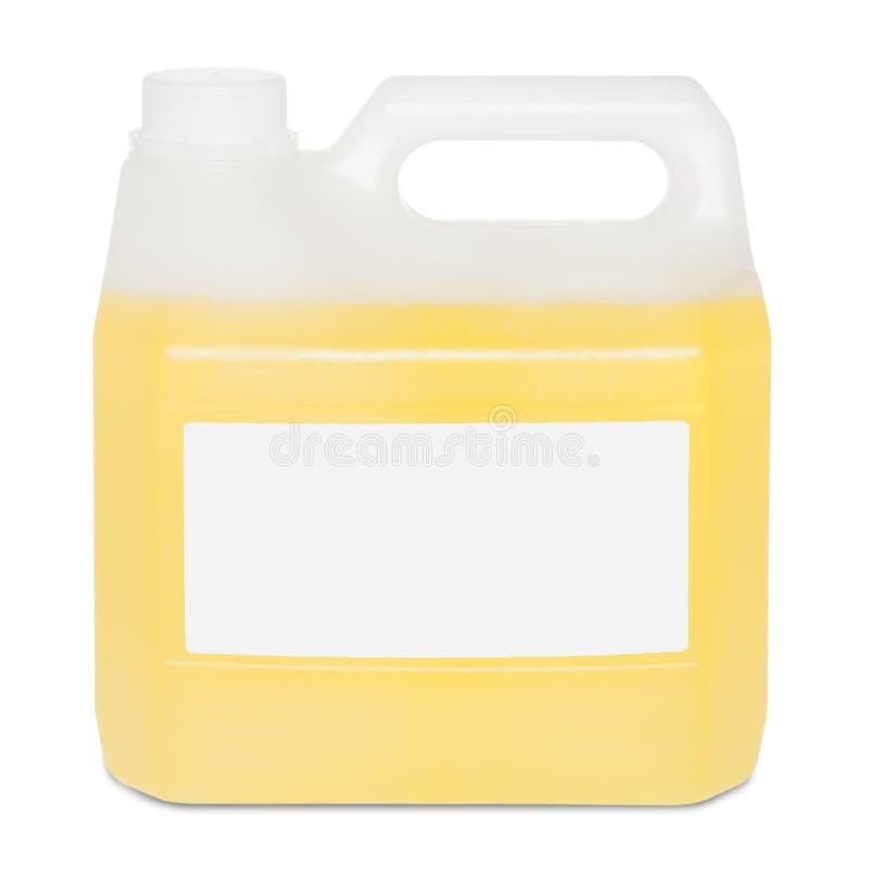 Butelka na białym backgroun zdjęcie stock