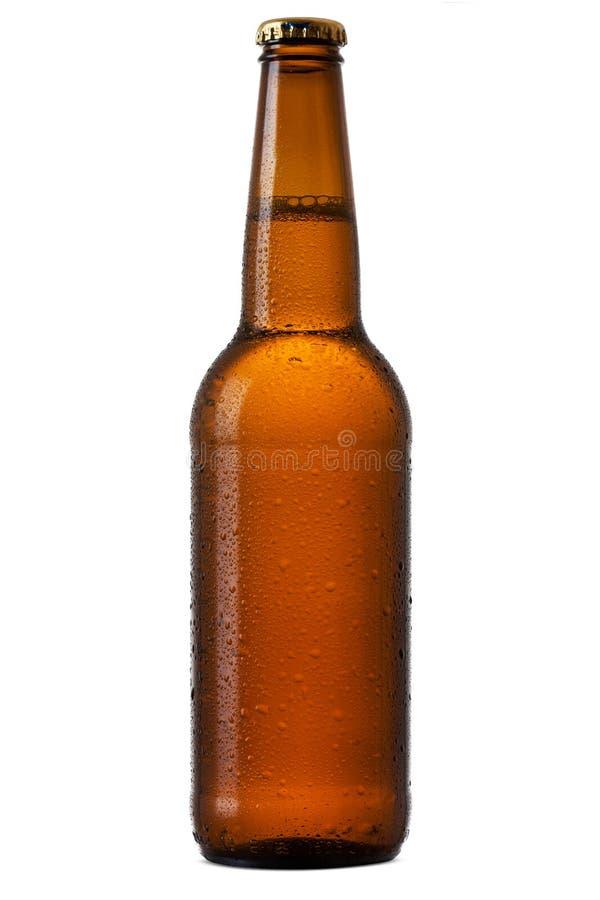 Butelka piwo fotografia stock