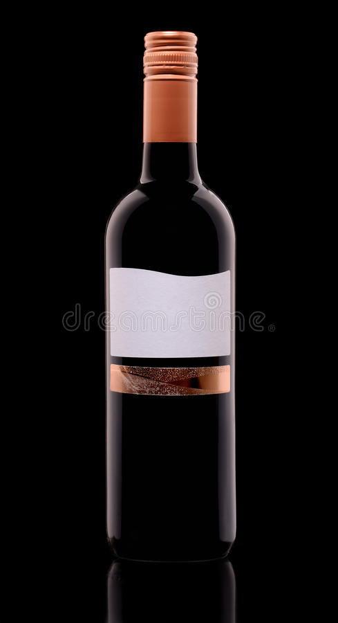 butelka stanowisko stare wino obrazy stock