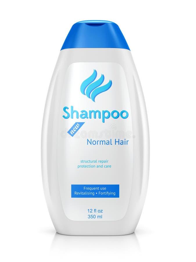Butelka szampon ilustracja wektor