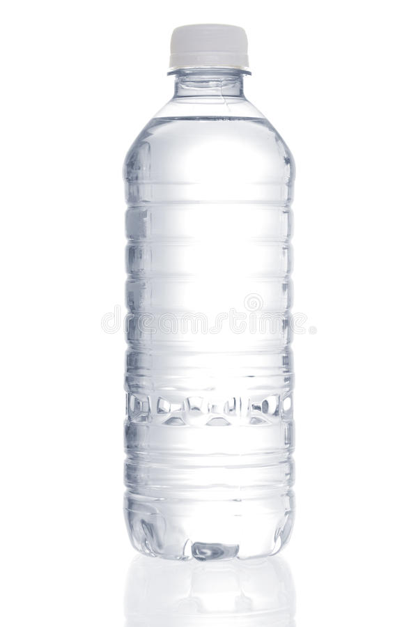 butelka woda obraz royalty free