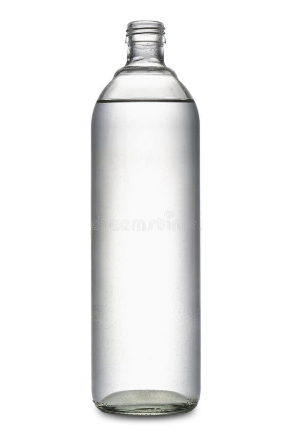 Butelka woda fotografia stock
