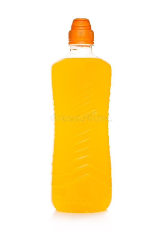 Butelka wodnego sporta energetyczny napój na bielu obrazy stock