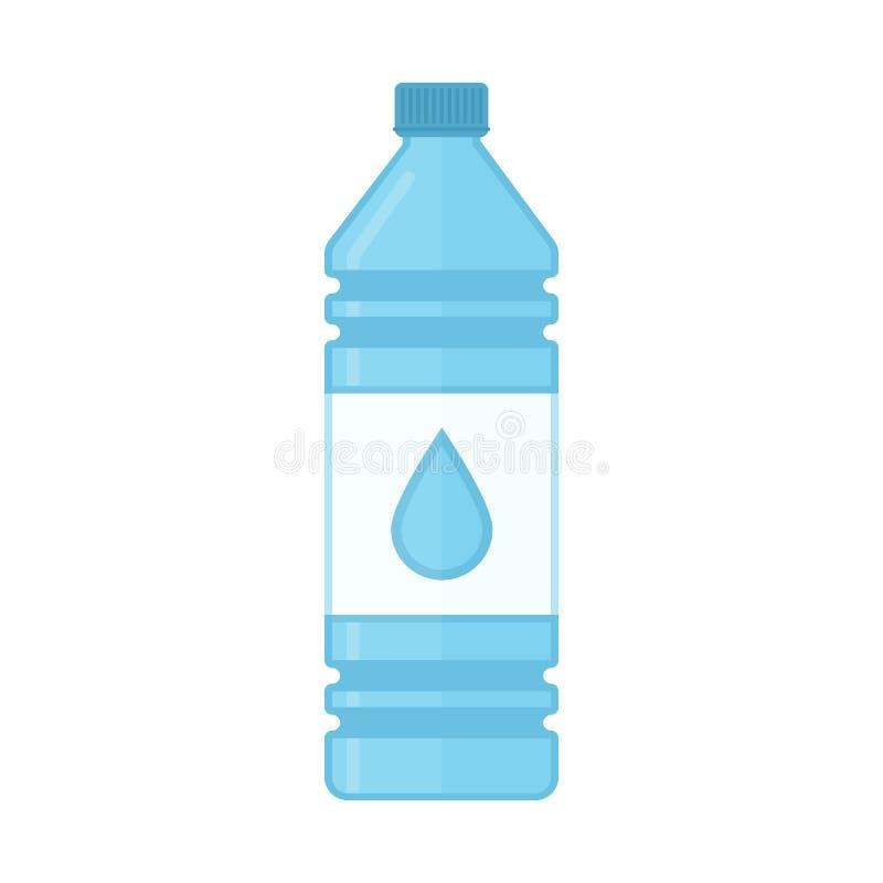 Butelka wodny wektor royalty ilustracja