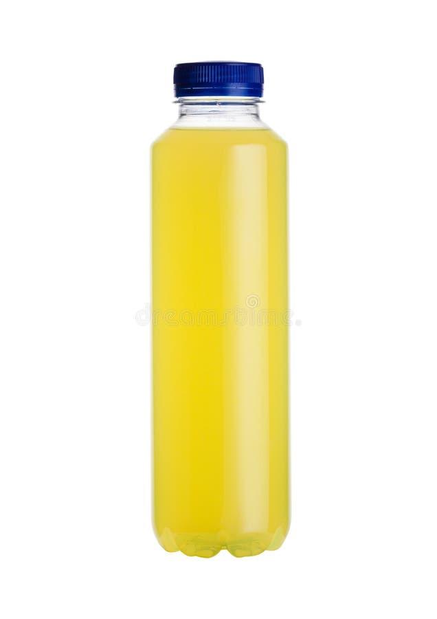 Butelka wodny zasilany energetyczny napój odizolowywający fotografia royalty free
