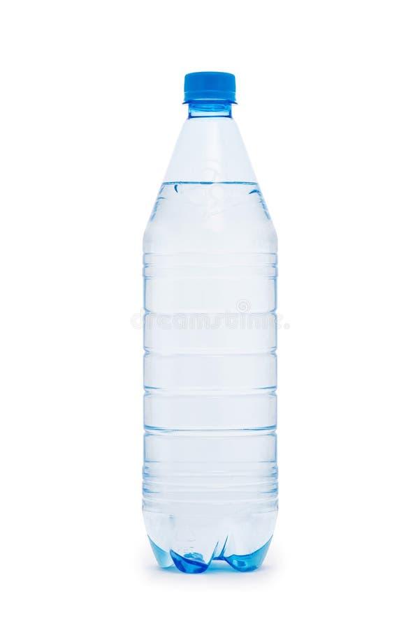 butelka wody odizolowane white fotografia royalty free