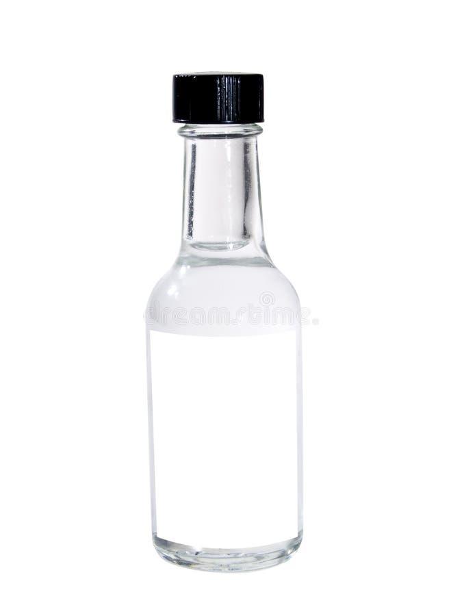 butelka występować samodzielnie zdjęcia stock