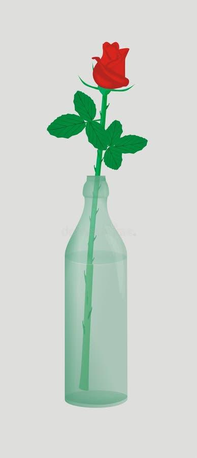 butelka wzrastał obrazy stock