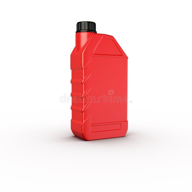 butelka zbiornika olej silnikowy ilustracji