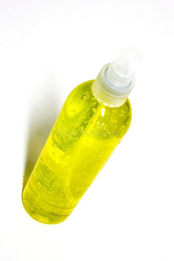 Download Butelki żel włosów obraz stock. Obraz złożonej z butelka - 44727