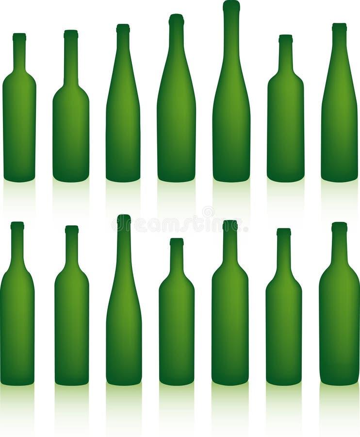 butelki ilustracji