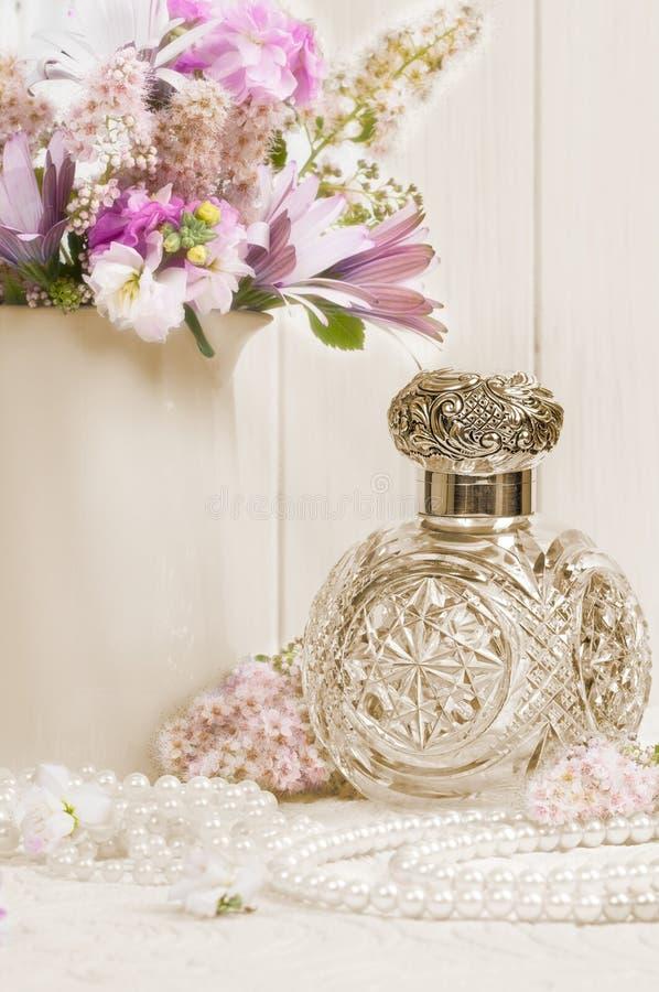 butelki antykwarski perfumowanie fotografia royalty free