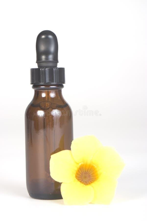 butelki aromatherapy brąz zdjęcia stock