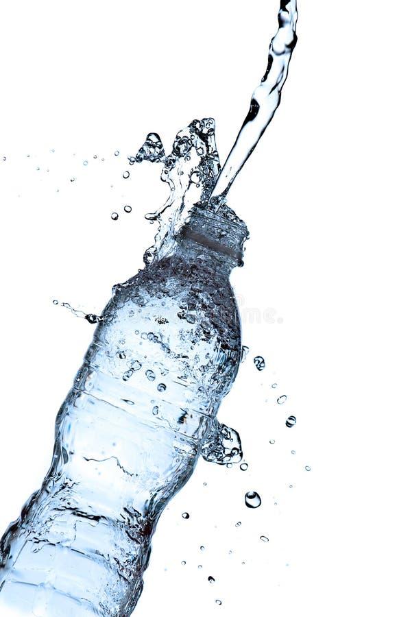butelki chełbotania woda zdjęcia stock