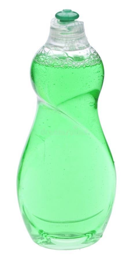butelki cleaning zieleń zdjęcie stock