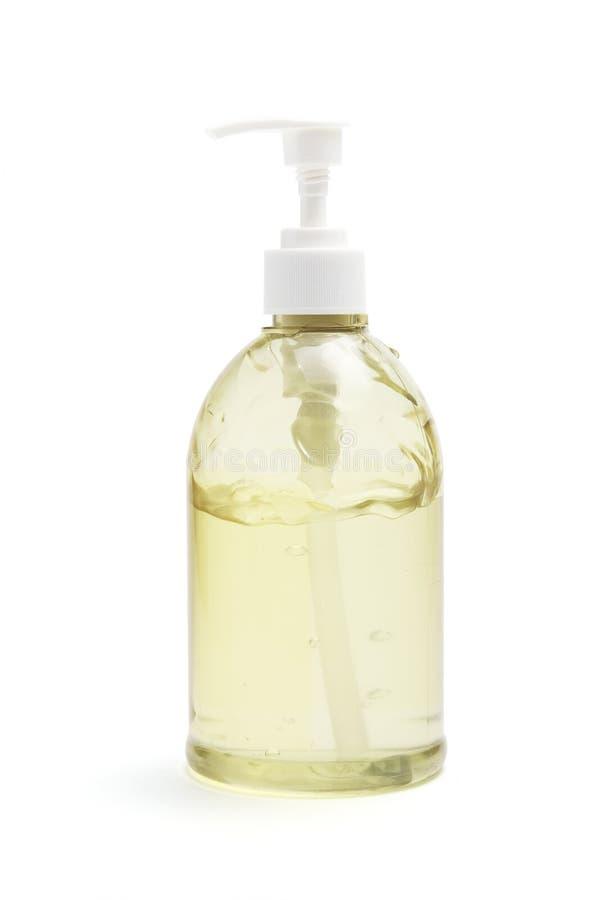 butelki gel włosy fotografia stock