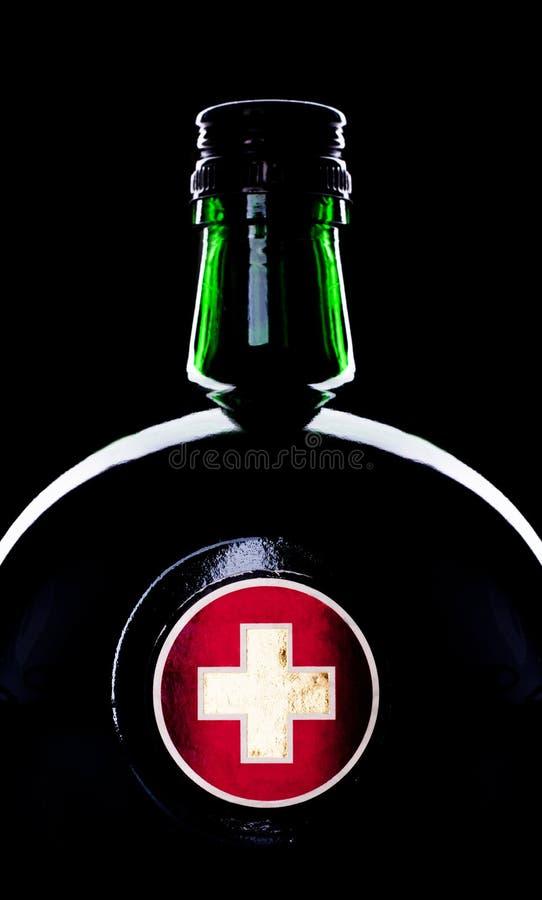butelki medycyna zdjęcie royalty free