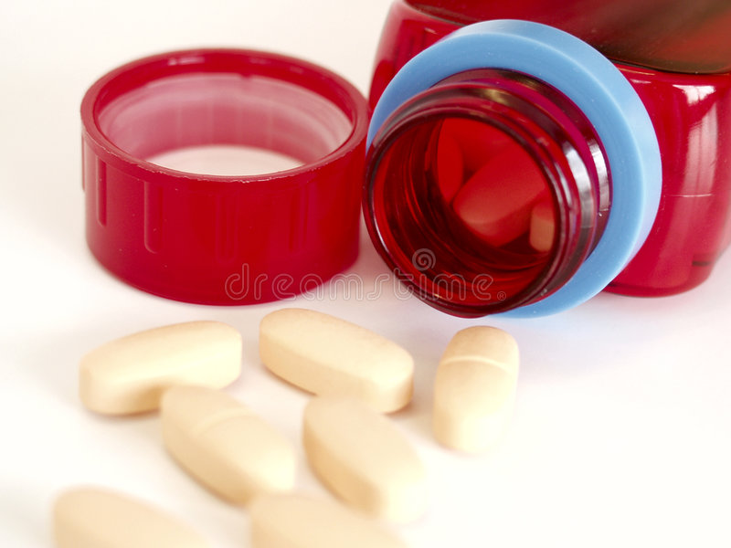 butelki medycyny zdjęcie royalty free