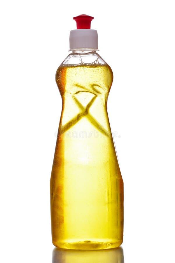 butelki naczynia ciecza klingerytu domycie zdjęcia stock