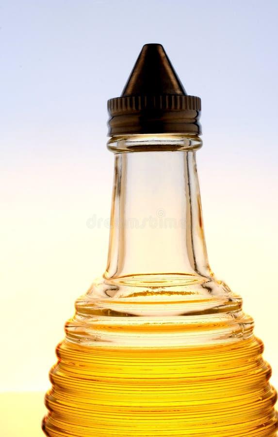 butelki oliwka oleju zdjęcie royalty free
