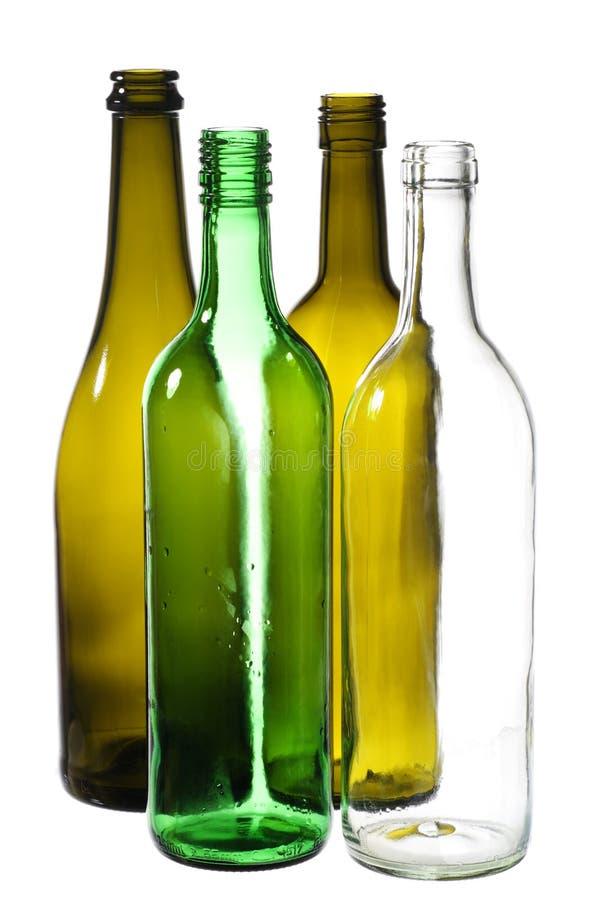 butelki opróżniają fotografia royalty free