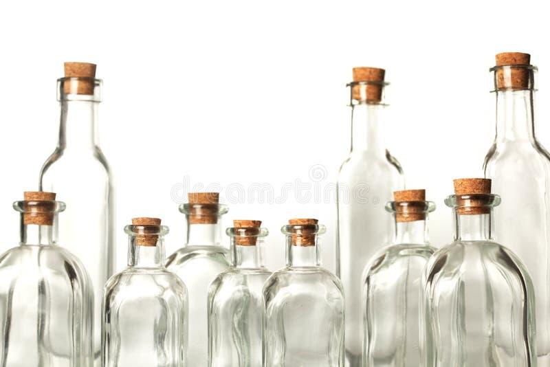 butelki opróżniają zdjęcia royalty free