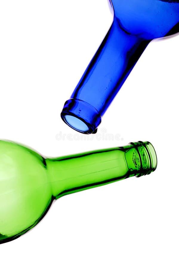 butelki opróżnione obraz royalty free