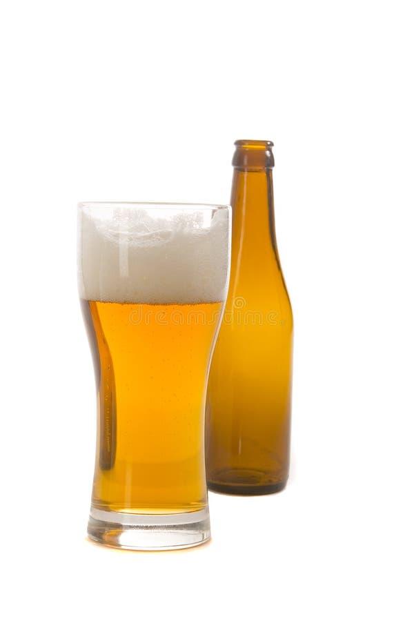 butelki piwnej szkła zdjęcie stock