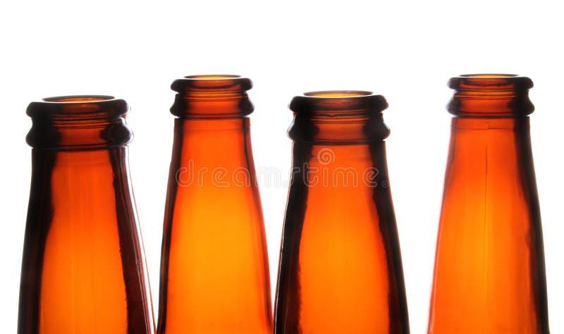 butelki po piwie obrazy stock