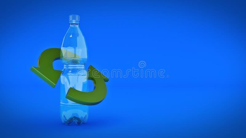 butelki pojęcia plastikowy target1729_0_ ilustracja wektor