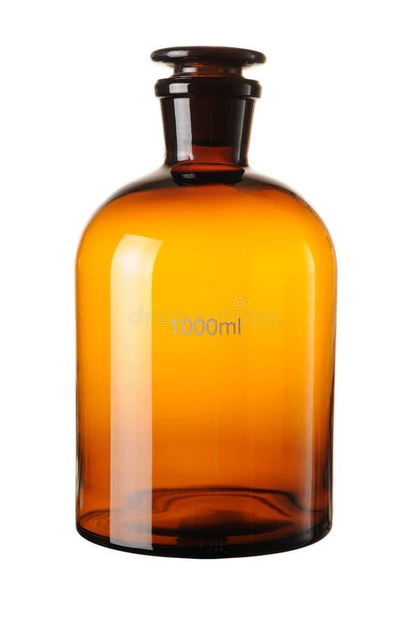 butelki substancja chemiczna obraz stock