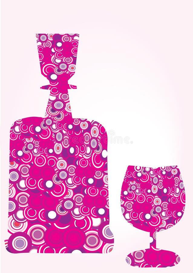 butelki szkła ilustracja wektor