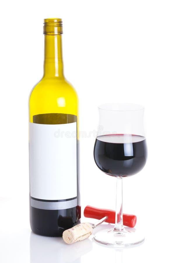 butelki szkła wino fotografia royalty free